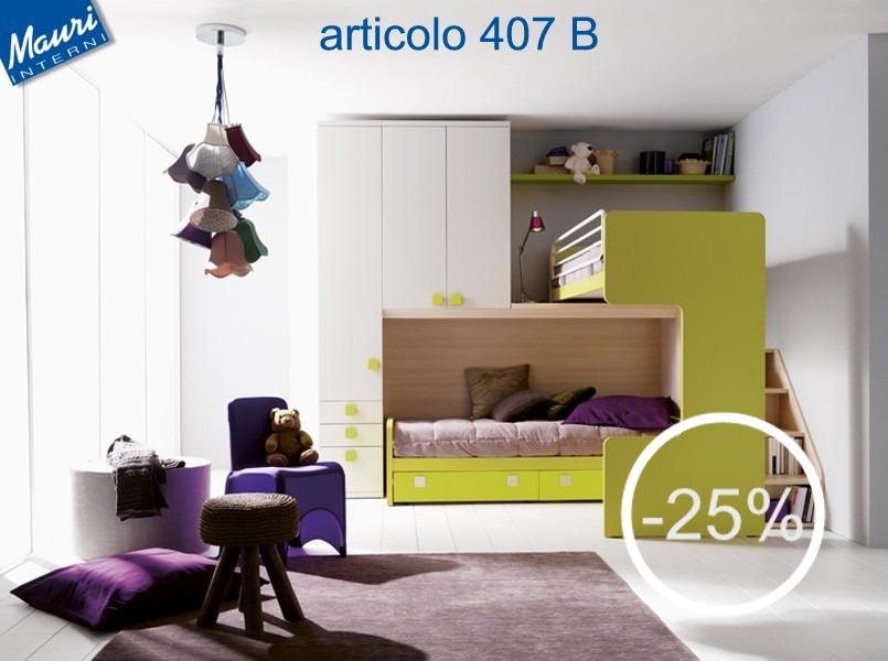 cameretta in offerta 407 - arredamento cucine moderne Ernestomeda e ...