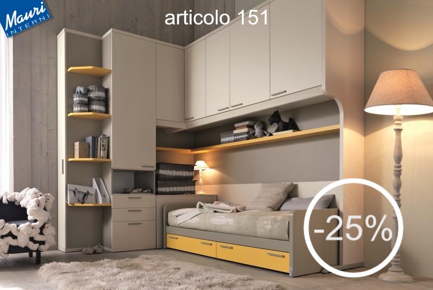 Cameretta La Tana Del Lupo Prezzo.Cameretta In Offerta 151 Arredamento Cucine Moderne Ernestomeda