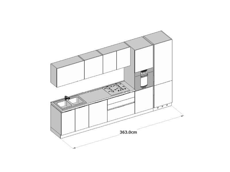 prezzi cucine arredo3 - arredamento cucine moderne Ernestomeda e camerette cityline