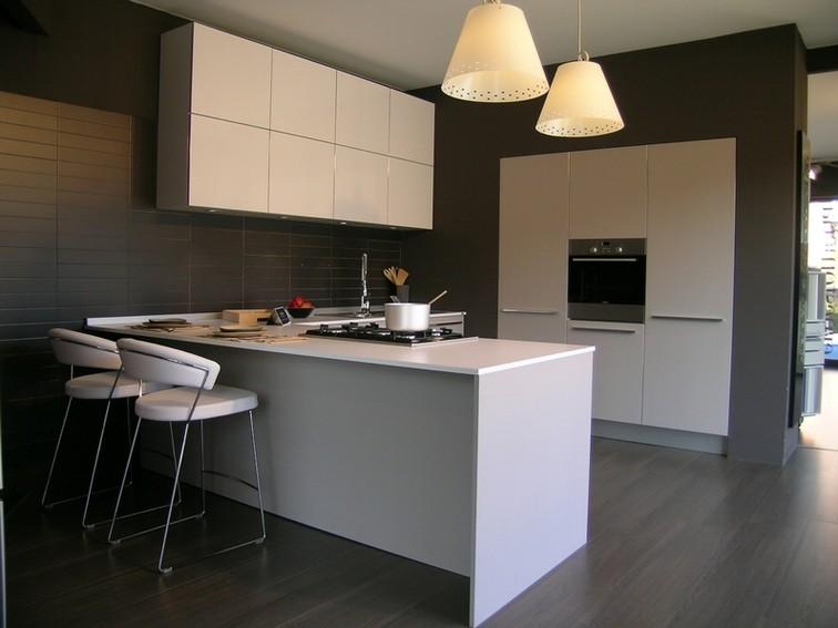 particolari cucina one+ larice grige - arredamento cucine moderne ...
