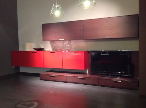 Zona giorno rovere moro arredamento cucine moderne for Mauri arredamenti lissone