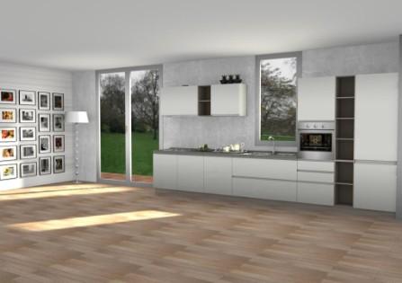 Progetti arredo3 arredamento cucine moderne ernestomeda for Mauri arredamenti lissone