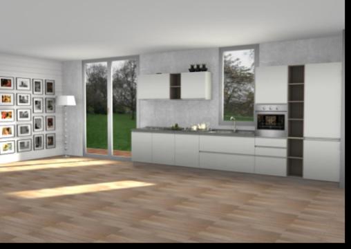 cucina arredo 3 progetto 83 - arredamento cucine moderne Ernestomeda ...