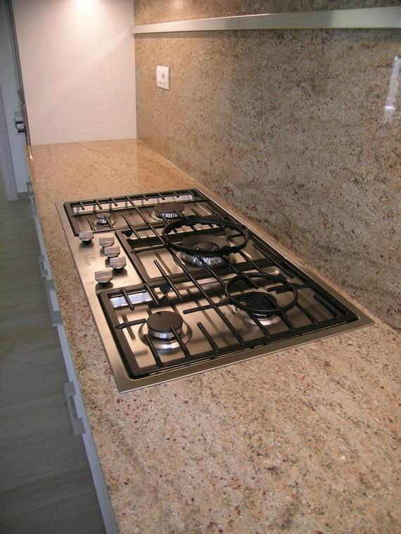 Top cucina ceramica piano cottura in granito - Piano cucina in granito ...