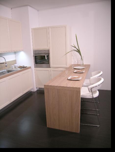 Nuova cucina gioiosa ged arredamento cucine moderne ernestomeda e camerette cityline - Banco colazione cucina ...