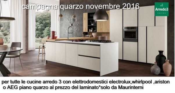 campagna quarzo 2017 arredo3 - arredamento cucine moderne ...