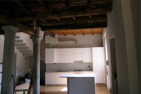 Cucina arredo 3 Wega laccato bianco - cucine ernestomeda e ...